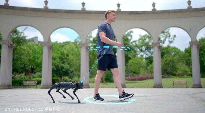 Boston Dynamics'in robot köpeğine rakip çıktı: Go1