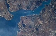 NASA astronotundan İstanbul paylaşımı