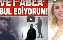 Reynmen, Ece Erken'e mesaj attı: Evet abla kabul ediyorum...