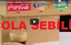 COLA SEBİLİ YAPIMI,TEKNOLOJİ TASARIM,EV YAPIMI,EL YAPIMI,GERİDÖNÜŞÜM,HOW TO MAKE,HOME MADE.