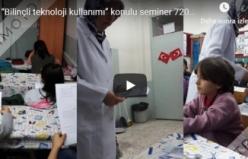 """""""Bilinçli teknoloji kullanımı"""" konulu seminer 720p 1"""