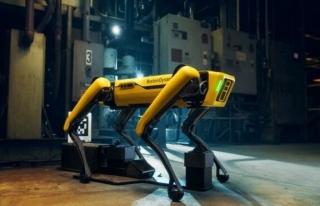 Amerika'da güvenlik güçlerinin robot köpek kullanımı...