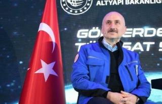Bakan Karaismailoğlu: Türksat 5A uydusunun yörünge...