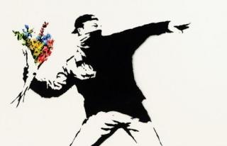 Banksy tablosunun satışı için ödeme olarak Bitcoin...