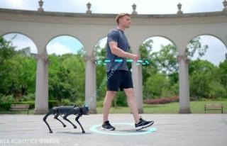 Boston Dynamics'in robot köpeğine rakip çıktı:...