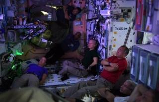 Fransız astronot ISS'ten paylaştı: Uzayda boş...