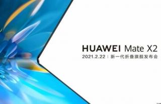 Huawei 'nin katlanabilir telefonunun çıkış tarihi...