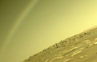 "NASA: ""Mars'ta gökkuşağı oluşması mümkün..."
