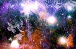 NASA, Samanyolu galaksisinden yeni bir görüntü...