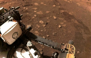 Perseverance Mars 'ta ilk turunu attı: 6.5 metrede...