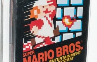 Super Mario'un unutulmuş kopyası 660 bin dolara...