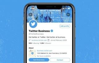 Twitter, işletmeler için yeni tasarımını test...