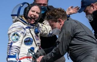 Van Gölü fotoğrafını çeken astronot dünyaya...