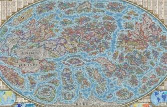 3000 tane web sitesini kullanarak internet haritası yaptı