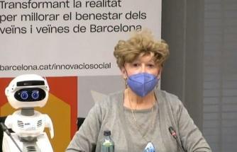 Barcelona 'da yaşlılara robotlar bakacak