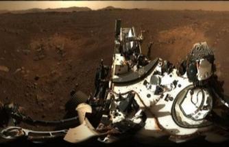 NASA paylaştı! İşte Mars 'taki Jezero Krateri…