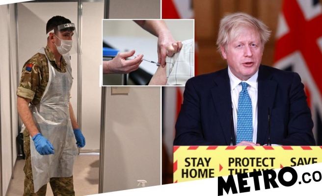 Boris to address nation at 5pm 'to unveil Army-led vaccine rollout plan'