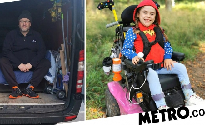Dad who lived in shed to protect daughter moves into van for latest lockdown