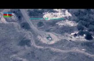 Ermeni hedefleri Türk yapımı SİHA'larla vuruldu